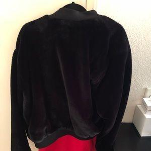 fe320137 Zara Jackets & Coats | Mens Faux Fur Bomber Jacket | Poshmark